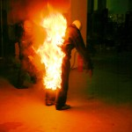 Stunt_Micke brinner
